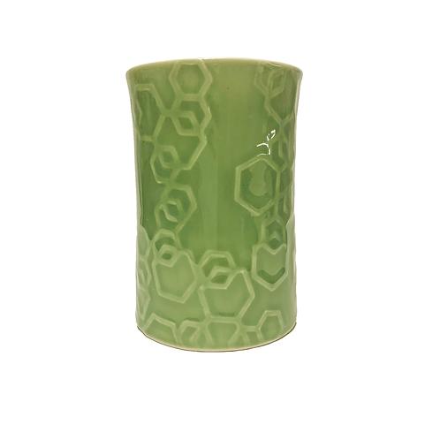 Hexagonal Tumbler- Wasabi green