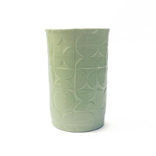 half circle tumbler- Wasabi Green
