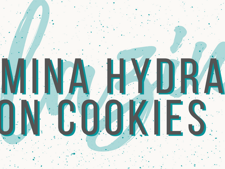 Adding Alumina Hydrate to your kiln cookies