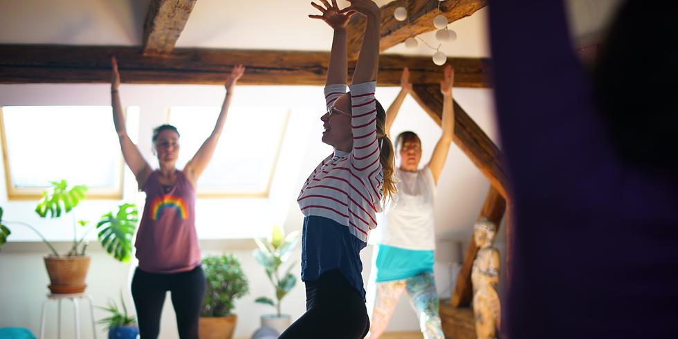 Oslava léta - jóga, masaže, fyzio-cvičení  (sobota - úterý)