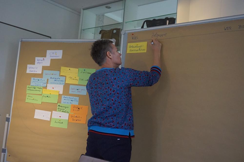 Kerstin Lausen moderierte den Workshop des Vorstandes
