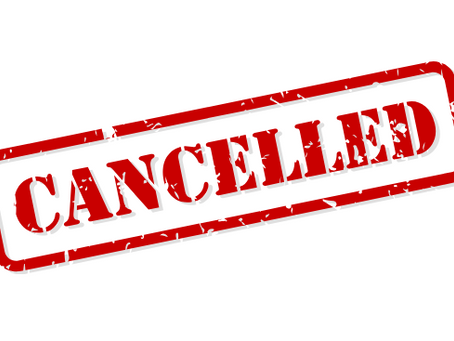 1/17/21 Sunday Service Cancelled