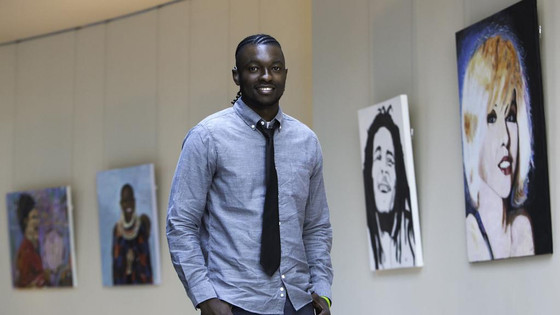 Faces of Africa: Artist Victor Sitali on overcoming his disability to pursue his passion