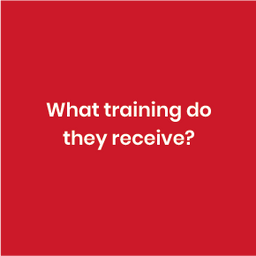 A structured training manual, updated on an annual basis forms the basis of the program