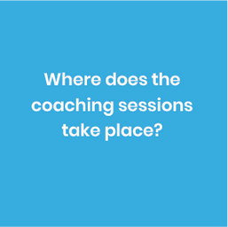 Coaching takes place at your child's school