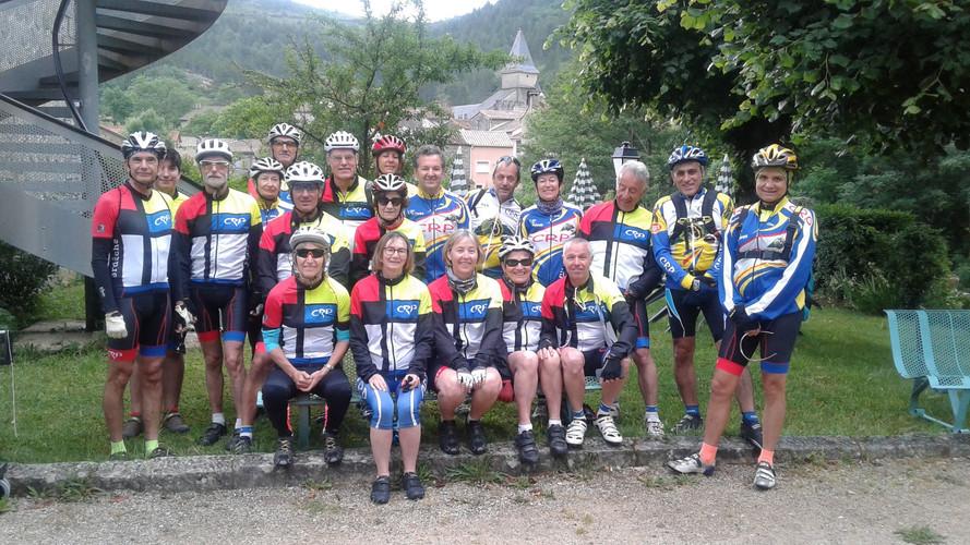 Les CRP en route vers le Mont-a-Aigoual