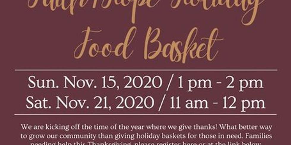 """""""2020"""" Thanksgiving Basket Giveaway"""