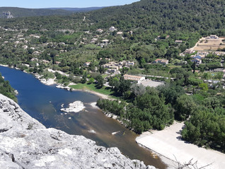 Week-end 14- 15 septembre 2019         Cyclo ou VTT à Salavas en Ardèche.