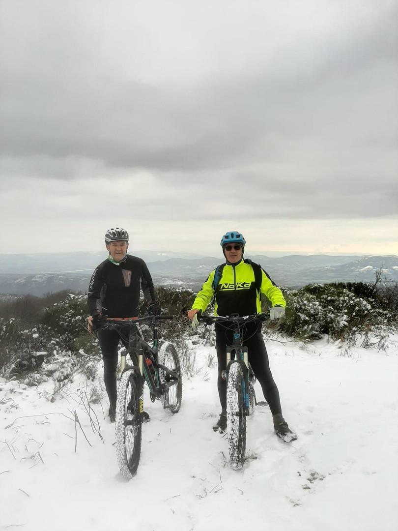 Première sortie club sous la neige