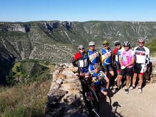 le Mont Aigoual et le cirque de Navacelles en vélo avec le C.R.P. 15 et 16 juin 2019