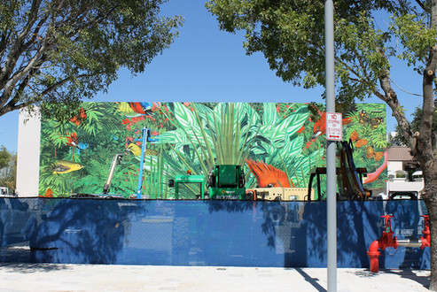 Tropical Mural Design District