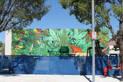 Tropical Mural Design District