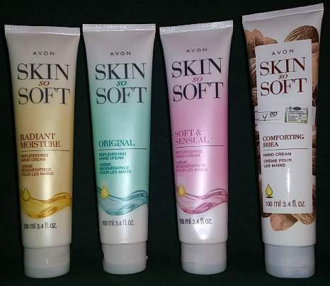 Skin So Soft Hand Creams