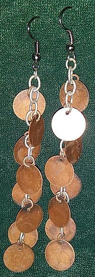 8 Copper Disks on Single Chain