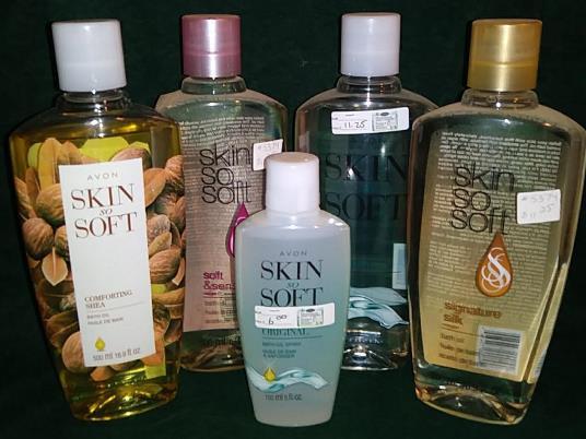 Skin So Soft Bath Oil