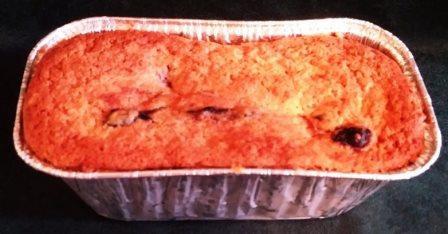 Blueberry Ricotta Pound Cake