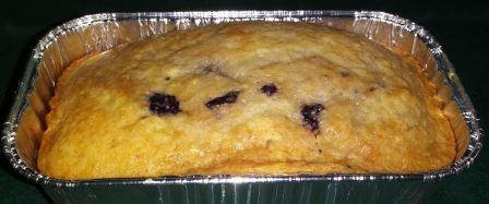 Blueberry Ricotta Bread