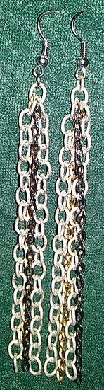 Quad Chain Earrings