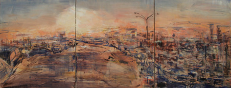 Panorama triptych