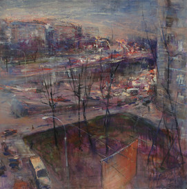 Nightfall in the City  SOLD