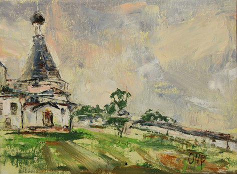Monastery, Russian North  SOLD