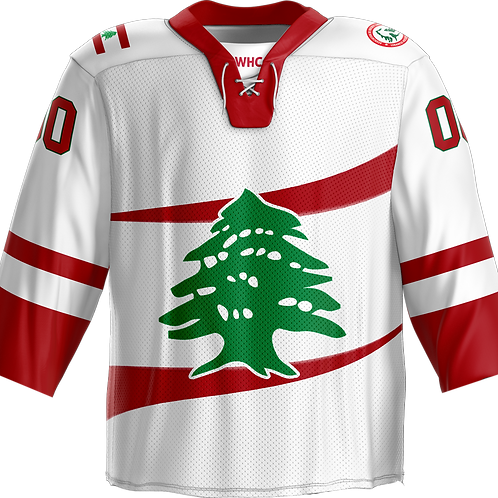 Replica - Team Lebanon Hockey Jersey