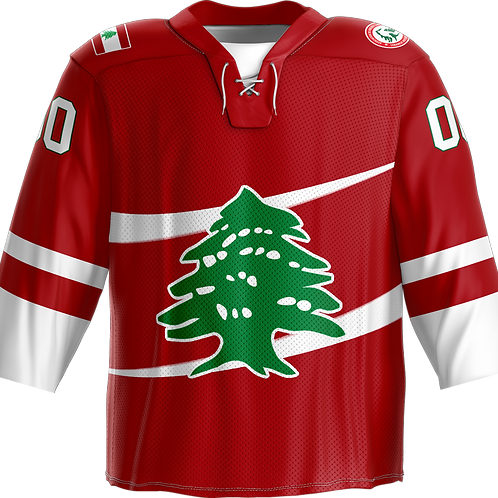 Official Lebanon Hockey Jersey