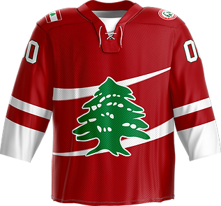 Hockey Lebanon Jersey sports team Cedar Hockey Ice Hockey