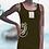 Thumbnail: Robe boutonniere - Buttonhole Dress/Lézard