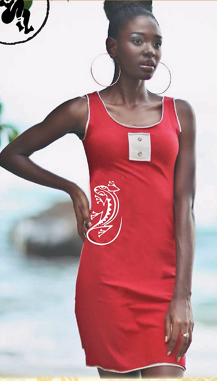 Robe boutonniere - Buttonhole Dress/Lézard