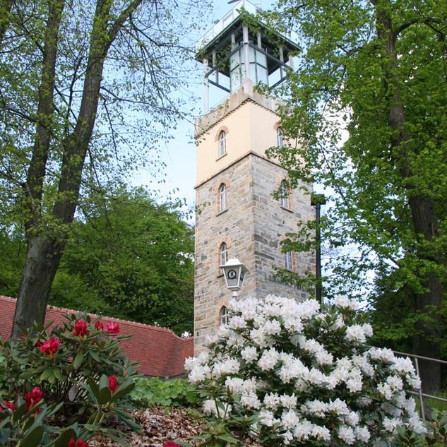 Der Lessingturm auf dem Hutberg