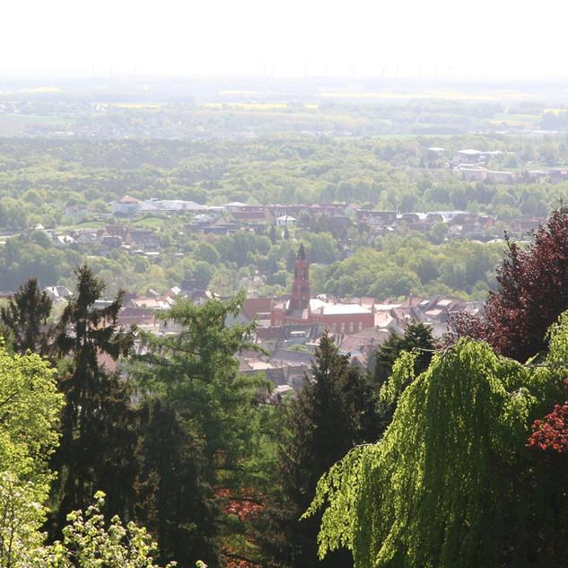 Hutbergblick auf die Lessingstadt Kamenz