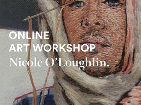 Portraiture in Thread - online workshop