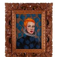 Love is a stranger in a ruffle collar, Annie Lennox,