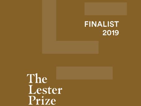 Lester Prize Finalist.