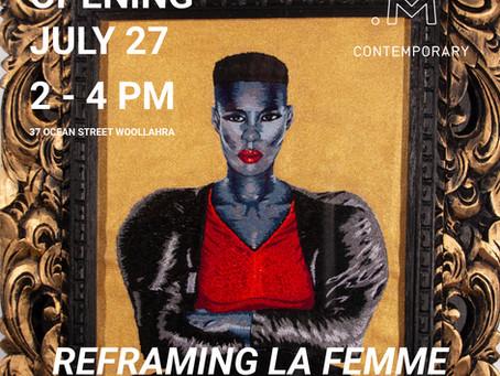 Reframing La Femme at M Contemporary