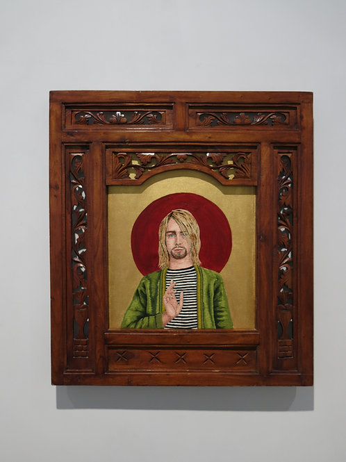 Saint Kurt , Patron Saint of Grunge