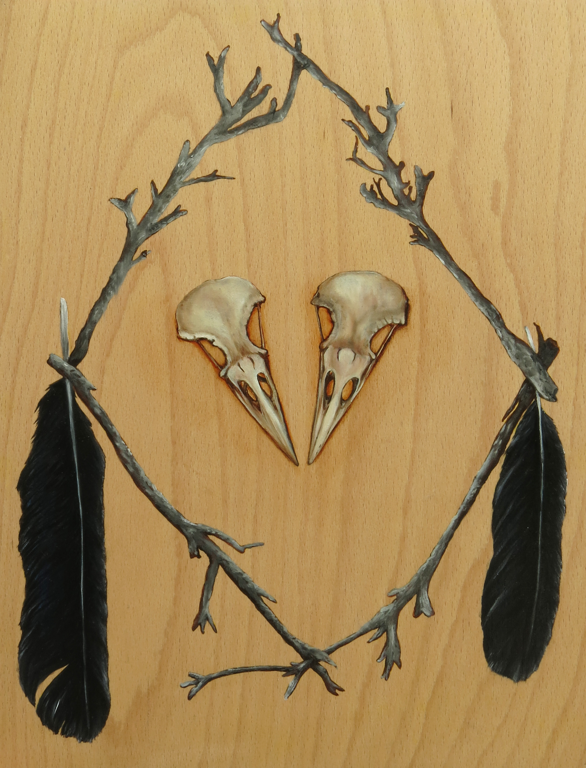 Black Witch Raven Talisman