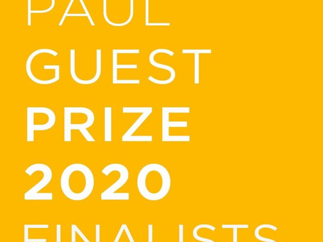 Paul Guest Prize Finalist