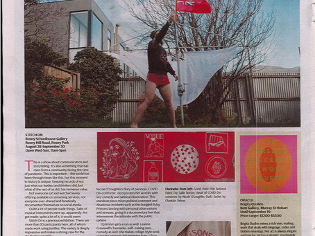 Stitch On review in The Mercury