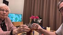 Samen een cognacje