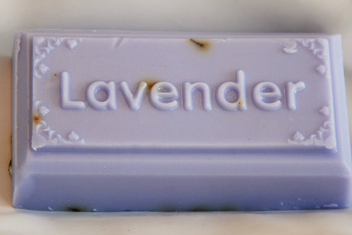 Campie's Lavender Soap 'Word Design'