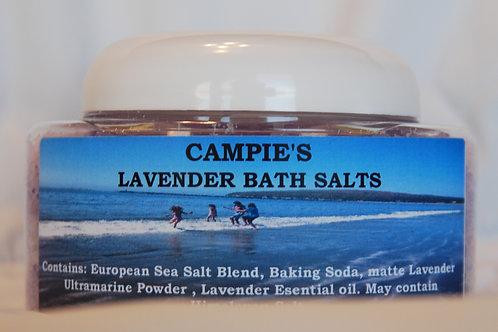 CAMPIE'S LAVENDER BATH SALTS