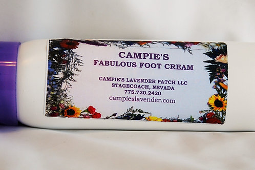 Campie's Fabulous Foot Cream Large 6 oz