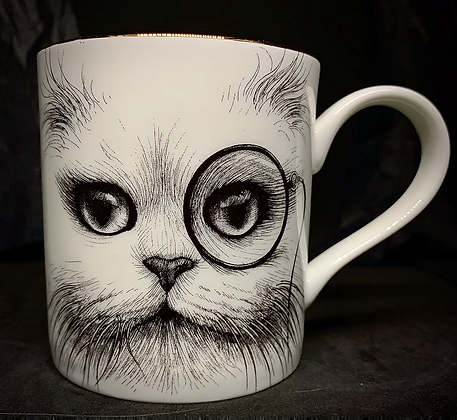 Mug en porcelaine Made in England.by Rory
