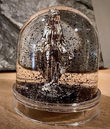 Boule de Neige La Vierge Marie.Le Miracle.
