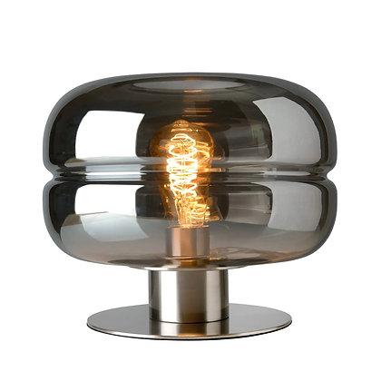 Lampe grise satinée Villeroy&Bosch.
