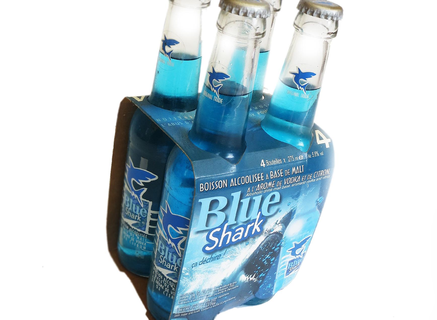 Pack 4 Blue Shark