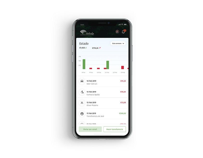pantalla-aplicación-movil-movimientos-tarjetas
