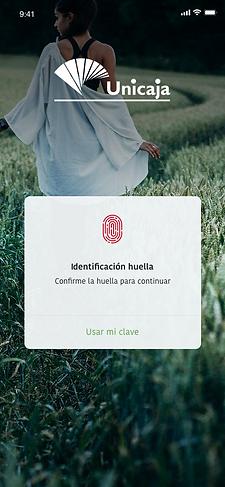 pantalla-aplicación-movil-lectura-huella-digital